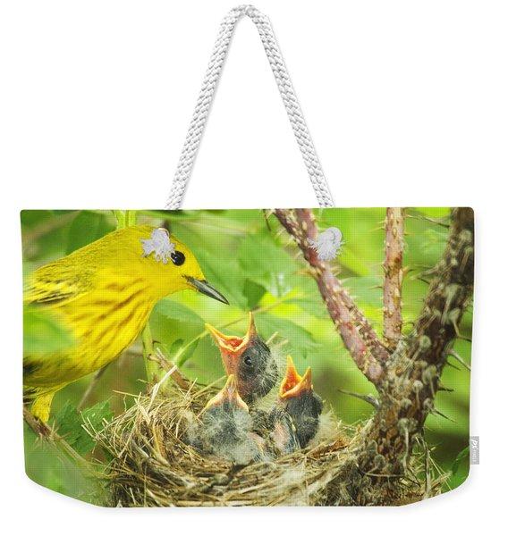 Dinner At The Warblers Weekender Tote Bag