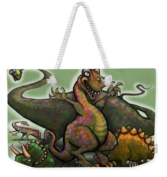 Dinosaurs Weekender Tote Bag