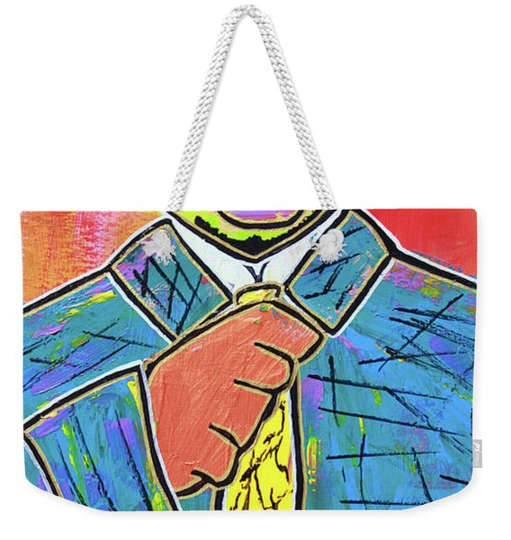 Dipped And Dapper Weekender Tote Bag