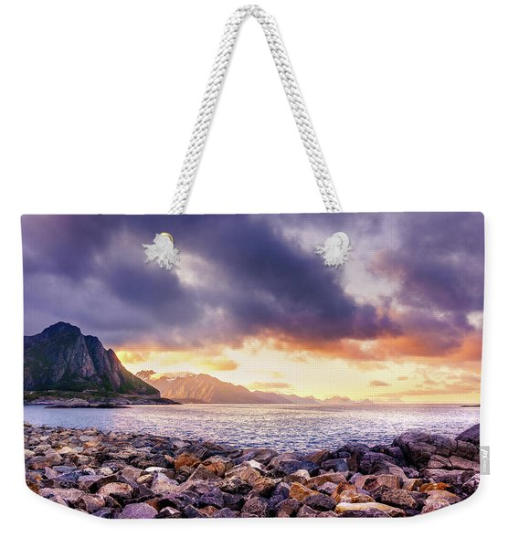 Weekender Tote Bag featuring the photograph Disappearing Archipelago by Dmytro Korol