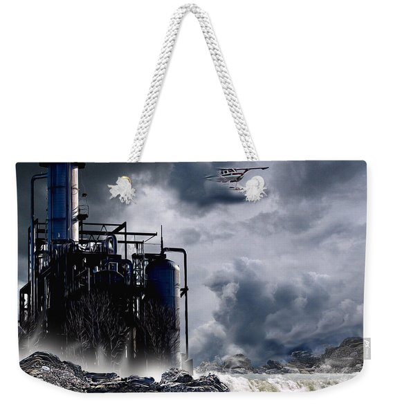 Disaster, In Plane View Weekender Tote Bag