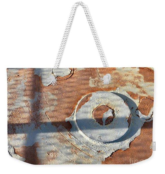 Disc Weekender Tote Bag