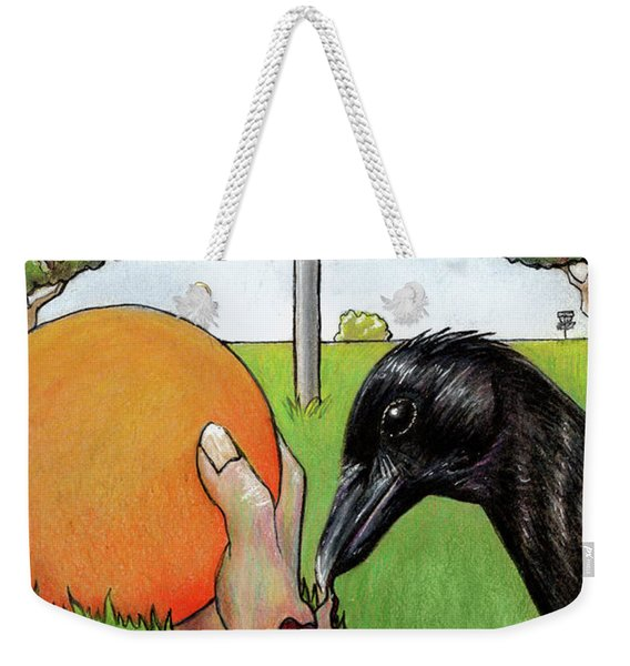 Disc Golf Nightmare Weekender Tote Bag