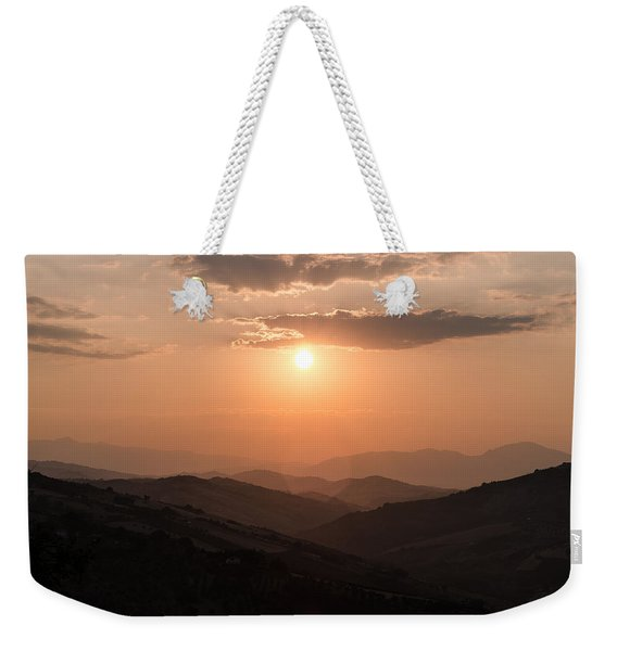 Disciples Of The Sun Weekender Tote Bag