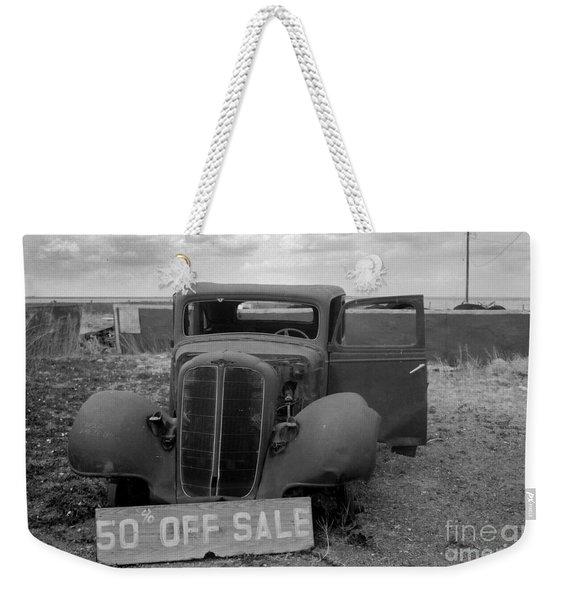 Discounted Weekender Tote Bag