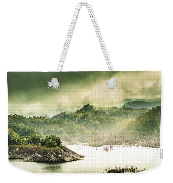 Discover Southwest Tasmania Weekender Tote Bag