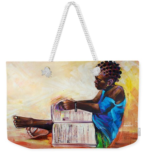 Discover To Recover Weekender Tote Bag