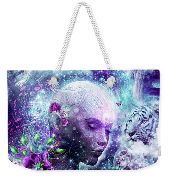 Discovering The Cosmic Consciousness Weekender Tote Bag