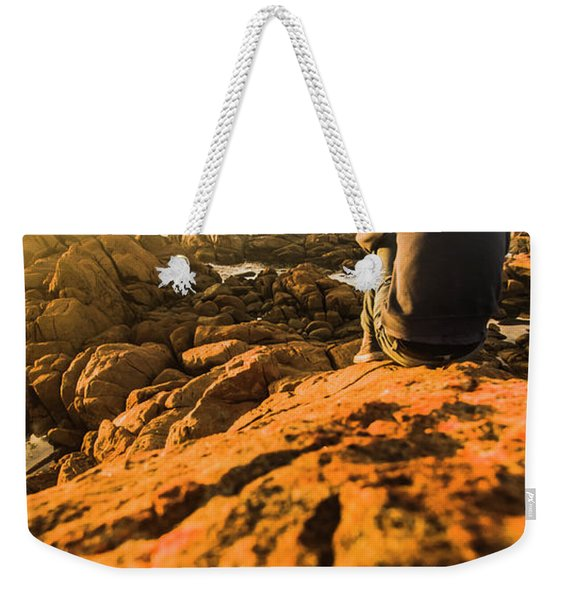 Discovering Wonderful Tasmania Weekender Tote Bag