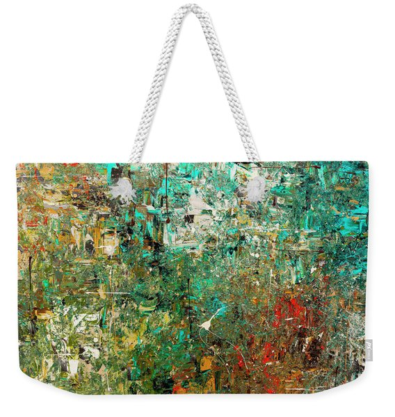 Discovery - Abstract Art Weekender Tote Bag