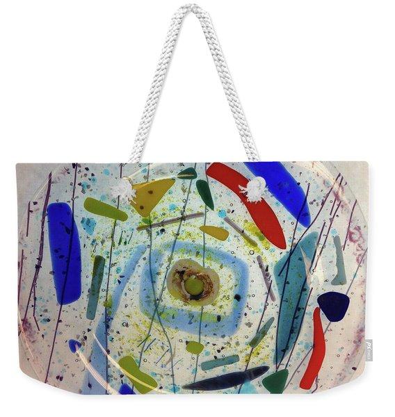Dish Weekender Tote Bag