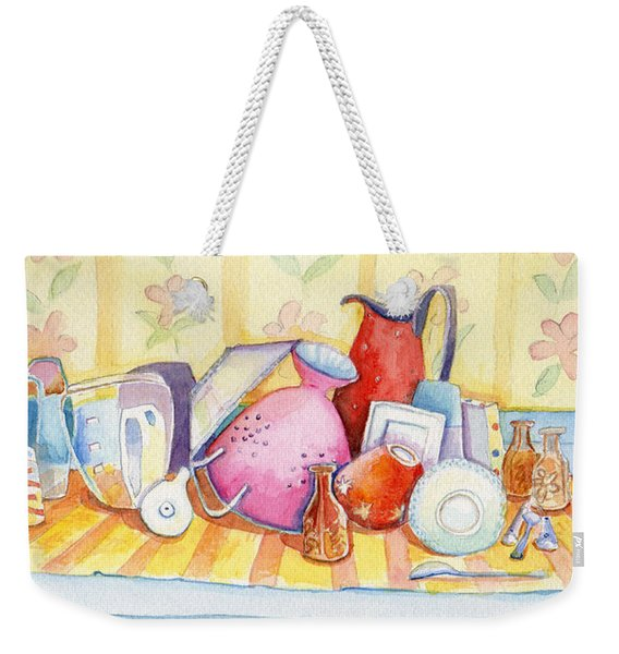 Dishes Are Done Weekender Tote Bag