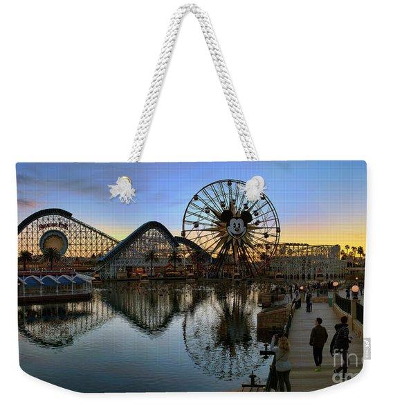 Disney California Adventure Panorama Weekender Tote Bag