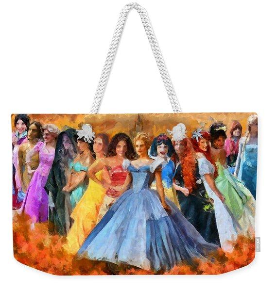Disney's Princesses Weekender Tote Bag