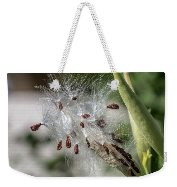 Dispersing Seeds Weekender Tote Bag