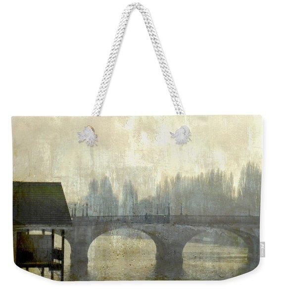 Dissolving Mist Weekender Tote Bag