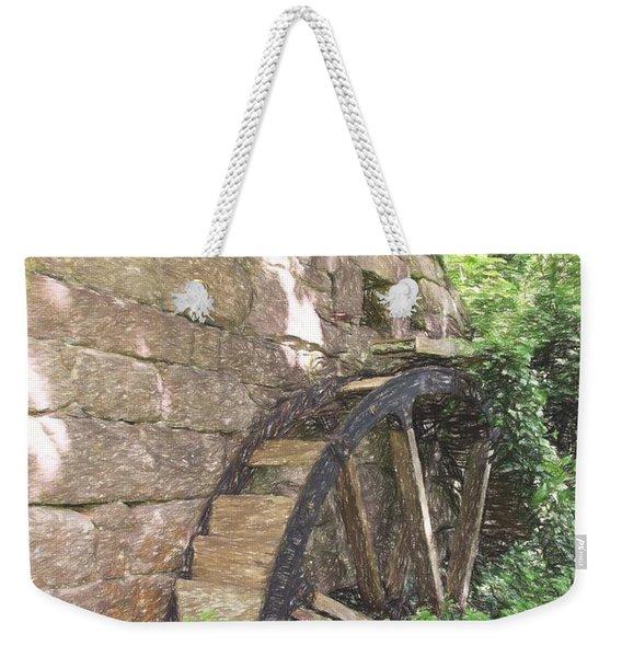 Disused Water Wheel Weekender Tote Bag