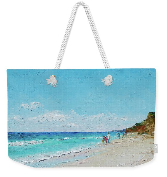 Ditch Plains Beach Montauk Hamptons Ny Weekender Tote Bag