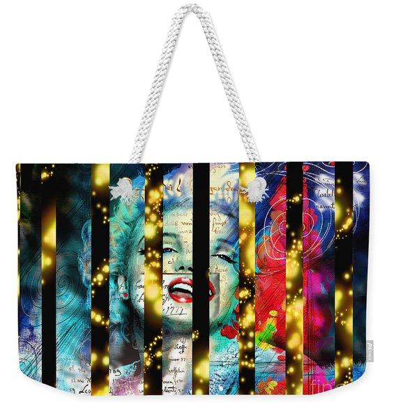 Diva A Star In Stripes Weekender Tote Bag