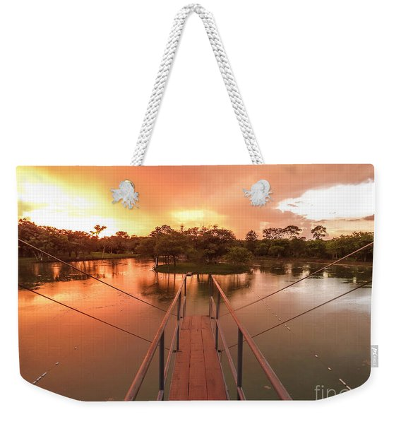 Dive In Weekender Tote Bag