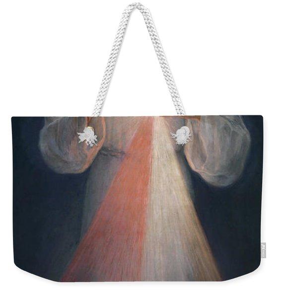 Divine Mercy Weekender Tote Bag