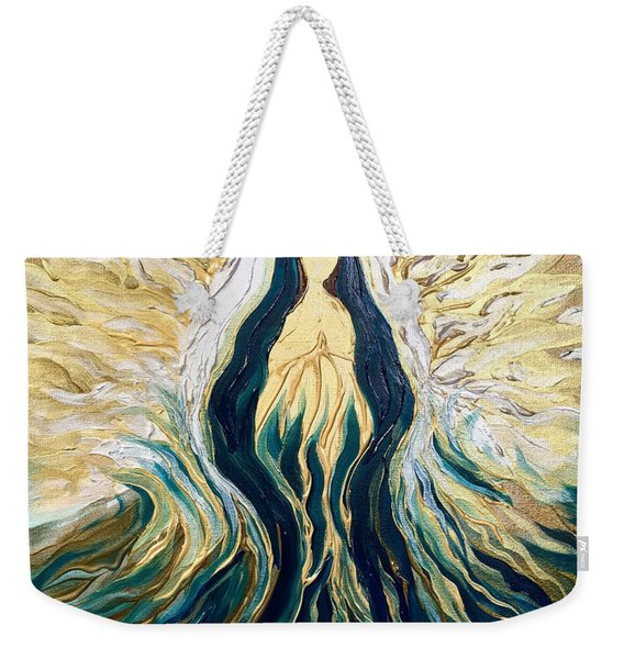 Divine Mother Weekender Tote Bag