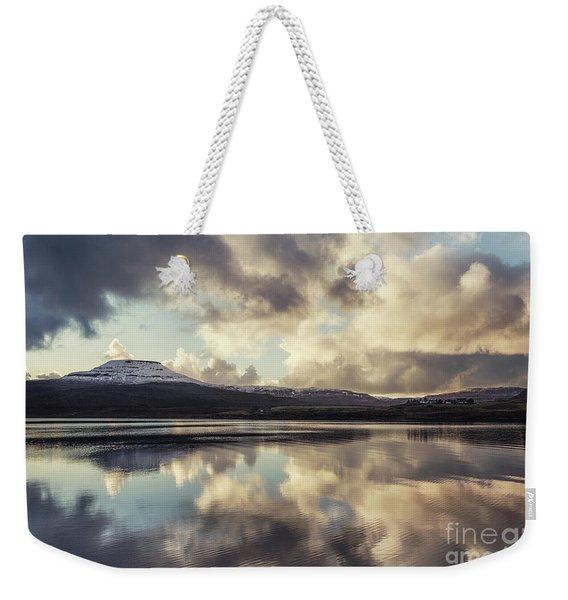 Divine Serenity Weekender Tote Bag