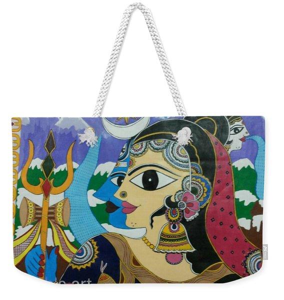 Divine Shivparvati Weekender Tote Bag