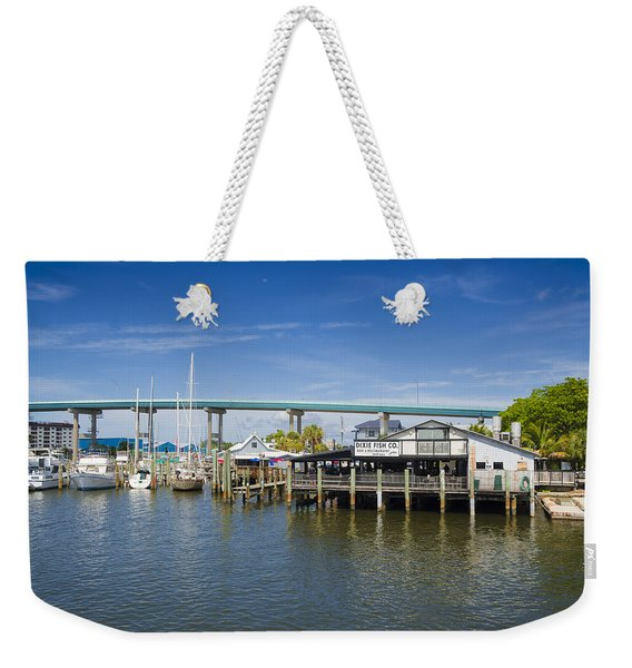 Dixie Fish Weekender Tote Bag