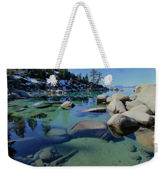 Weekender Tote Bag featuring the photograph Do You Enjoy A Visual World? by Sean Sarsfield