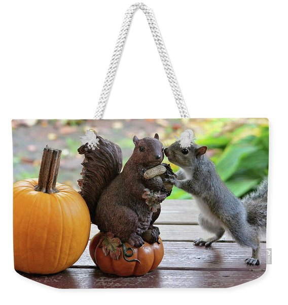 Do You Want To Share? Weekender Tote Bag