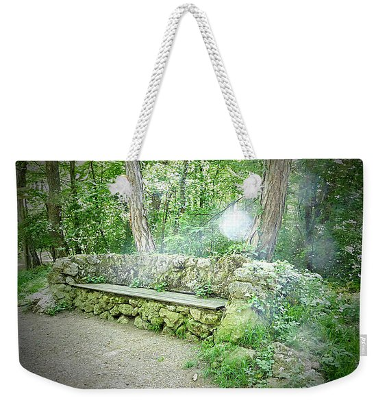 Weekender Tote Bag featuring the photograph Do You Want To Take A Rest by Bee-Bee Deigner