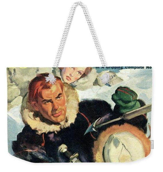 Doc Savage Fortress Of Solitude Weekender Tote Bag