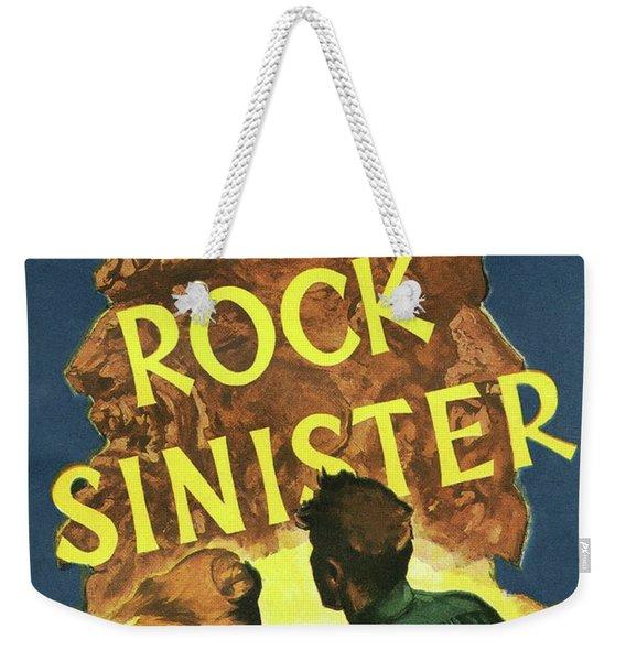 Doc Savage Rock Sinister Weekender Tote Bag