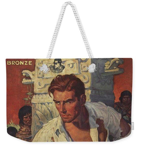 Doc Savage The Man Of Bronze Weekender Tote Bag