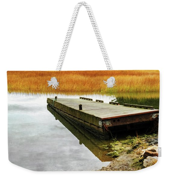 Dock And Marsh Weekender Tote Bag