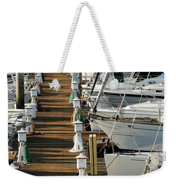 Dock Walk Weekender Tote Bag