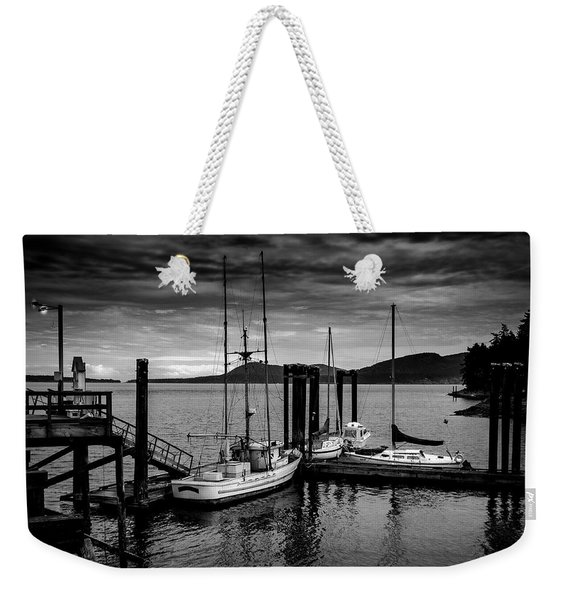 Docked For The Night Weekender Tote Bag