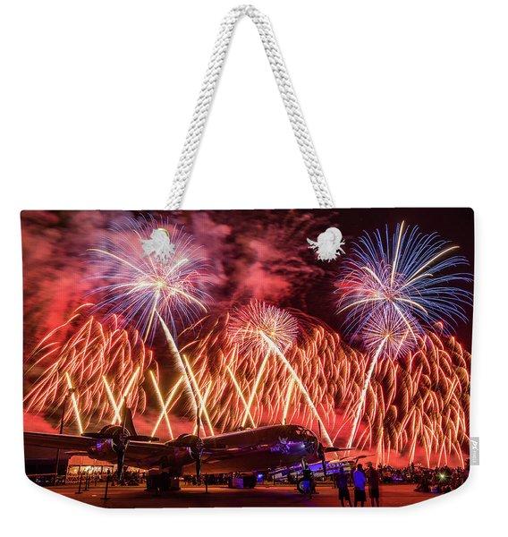 Doc's Fireworks Weekender Tote Bag