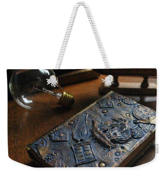 Doctor Who Steampunk Journal  Weekender Tote Bag