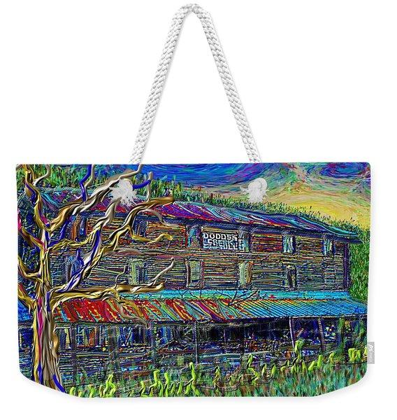 Dodds Creek Mill, ,floyd Virginia Weekender Tote Bag