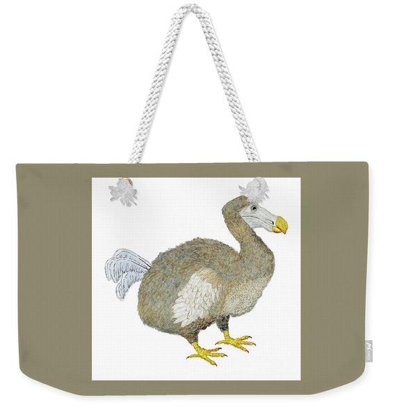 Dodo Bird Protrait Weekender Tote Bag