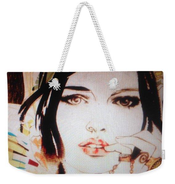 Does She Love Me C2018 Weekender Tote Bag