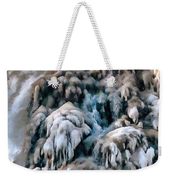 Dog Falls Weekender Tote Bag
