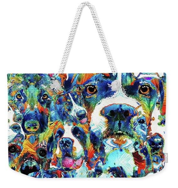 Dog Lovers Delight - Sharon Cummings Weekender Tote Bag