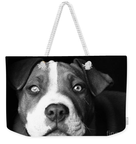 Dog - Monochrome 2 Weekender Tote Bag