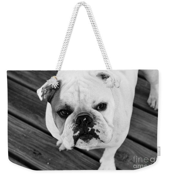 Dog - Monochrome 6 Weekender Tote Bag