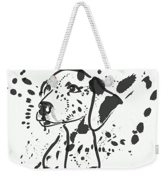 Dog Spot Weekender Tote Bag