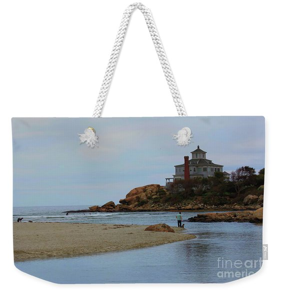Dogs And Surf Weekender Tote Bag