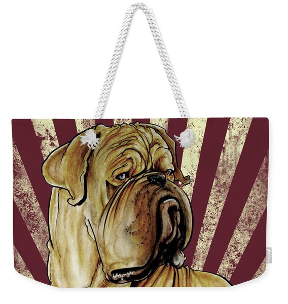 Dogue De Bordeaux Revolution Weekender Tote Bag